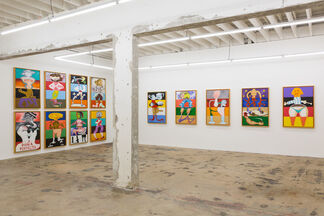 Ray Smith Studio, installation view