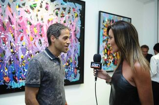 JonOne SOLO SHOW at THE GALLERY 32, installation view