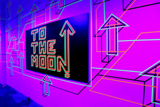 Gateway To The Moon 3.0, installation view