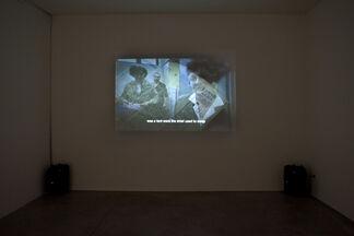 """Gabriella Ciancimino """"Dalla Terronia Col Furgone"""", installation view"""