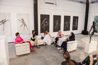 Woman and their contribution in the art business, installation view