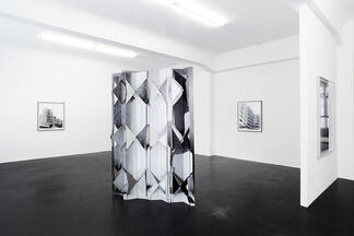 Sinta Werner - The Operation of Displacement, installation view