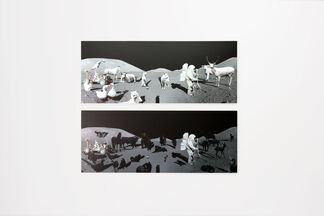 Krassimir Terziev - IMAGES STARING AT IMAGES, installation view