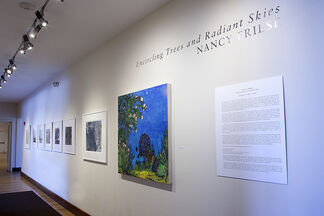 Encircling Trees and Radiant Skies, installation view
