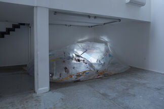 """Vol de nuit Si ton regard Je meurs ..."" - Antonin HAKO, installation view"