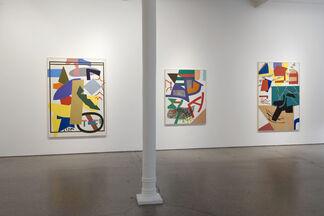 Shirley Jaffe, installation view