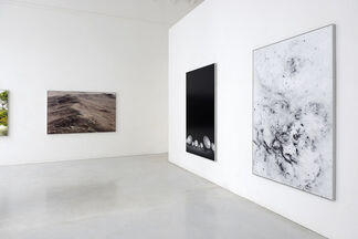 """Michael Najjar - """"outer space"""", installation view"""
