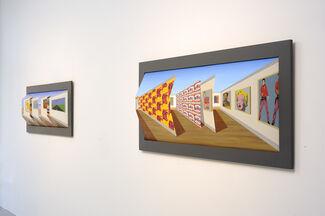 Patrick Hughes, installation view