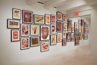 Shepard Fairey: On Our Hands, installation view