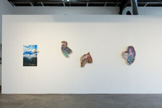 Kalee Appleton Glancing Backward, installation view