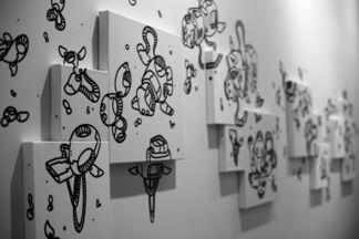 LeMoDuLeDeZeeR Solo Exhibition by LMDLDZR_ZeeR, installation view