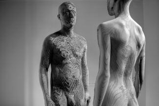 Aron Demetz, installation view