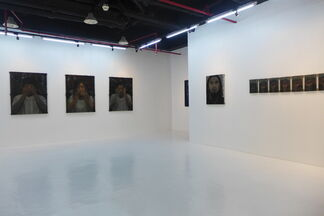Rattling of Shutters - a solo exhibition by Kirby Roxas, installation view