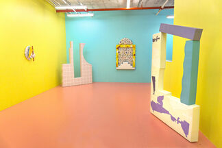 I Just Want To See You Underwater by Leah Guadagnoli, installation view