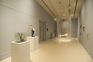 Aurora: Contemporary Nordic Glass Art, installation view