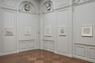 Jacob El Hanani Linescape: Four Decades, installation view