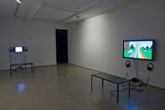 "Cory Arcangel, Guillaume Pinard and Jon Routson - ""Arcangel, Pinard, Routson"", installation view"