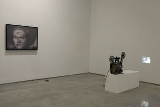 """Pierre Bismuth - """"Following the right hand of..."""", installation view"""