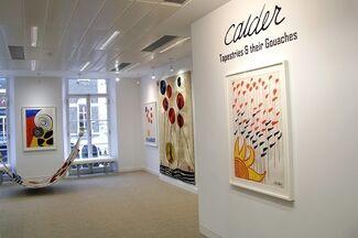 Alexander Calder: Tapestries & their Gouaches, installation view