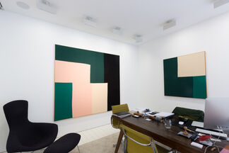 Ethan Cook, installation view