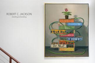 Robert Jackson: Distilling and Destilling, installation view