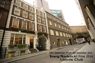 Young Masters Art Prize - Lloyds Club, London, installation view