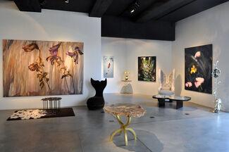 Flowers, installation view