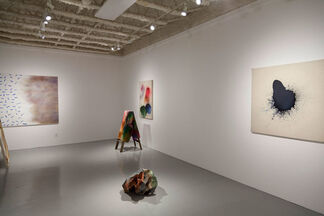 """Hiyme Brummett """"Semantic Color Space"""", installation view"""