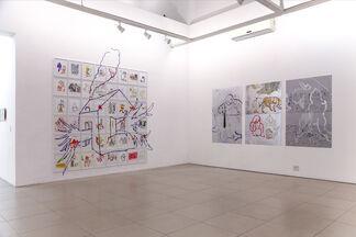 Fabio Zimbres | Casa, installation view