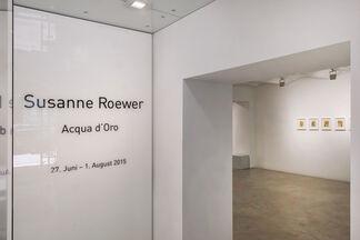 Susanne Roewer | Acqua d' Oro, installation view