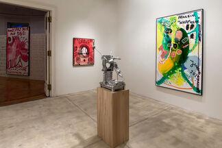 """JONATHAN MEESE """"DR. NO SPORTARZAHN  (EVOLUTIONSSCHRITT DE FIT)"""", installation view"""