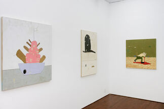 Kirk Hayes - Launched To Sink, installation view