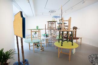 """Masanori Handa: """"nakakiyo no entakukei"""", installation view"""