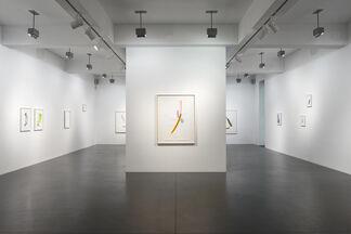 Henrik Eiben When the Wind Sings - New Watercolors, installation view