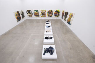 Peter Opheim: Fables of the Eleven Rooms and Six Houses, installation view