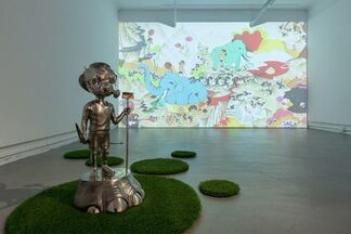HUA Chien-Chiang Solo Exhibition- Painting Becoming, installation view