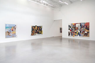 Shifted Sims, installation view