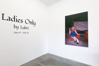 LADIES ONLY by Lubri, installation view