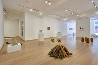 Barry Flanagan: Animal, Vegetable, Mineral, installation view
