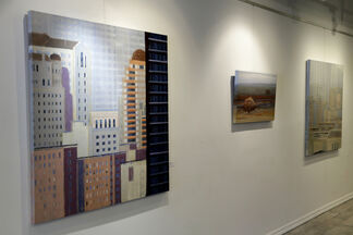 Horizon Lines, featuring Alan Mazzetti, installation view