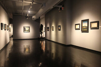 """""""Pilgrimage"""" A One Man Exhibition of New Paintings By Matthew Cornell, installation view"""