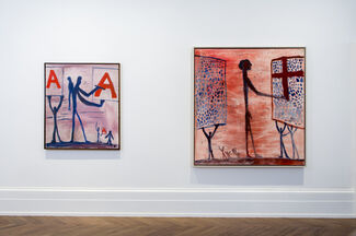"""""""A.R. Penck: Early Works"""", installation view"""