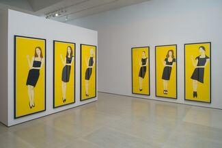 Alex Katz: Black Dress, installation view