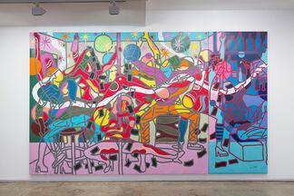 Ajarb Bernard Ategwa, Kwasa Kwasa Girls, installation view