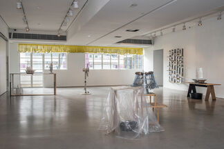 Days push off into nights, installation view