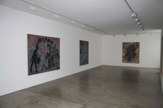 Jörg Immendorff: Late Paintings, installation view