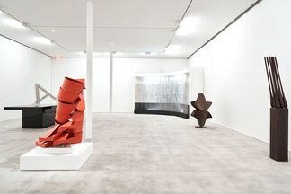 Abstraction and Figuration in Space, installation view