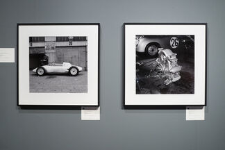 Jesse Alexander: Photographs from the Golden Age of Motorsports, installation view