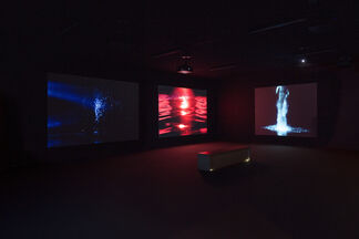 OUT OF THE DARKNESS, installation view