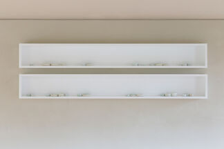 Edmund de Waal: the lost and the found: work from Orkney, installation view